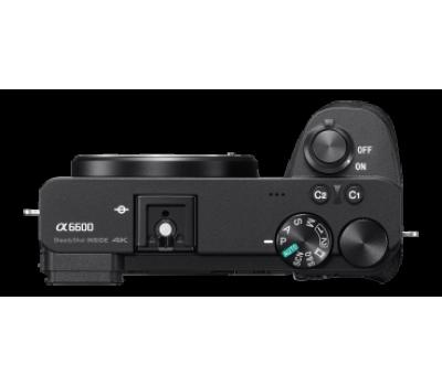 Камера α6600 премиум-класса с матрицей APS-C и байонетом E
